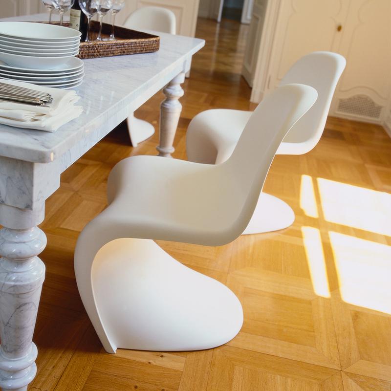 Vitra sedia panton chair vitra di verner panton vitra - Verner panton sedia ...