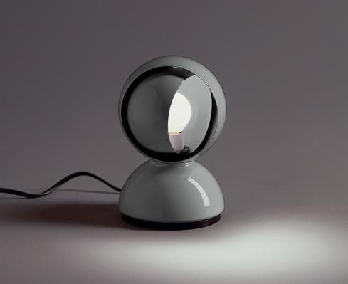 Artemide eclisse artemide lampada di vico magistretti - Lampada comodino design ...