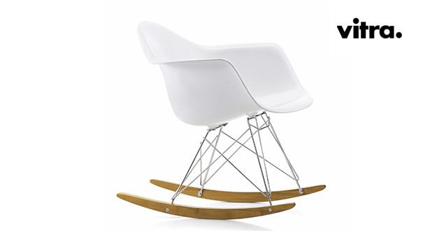 sedia a dondolo Vitra RAR rocking chair