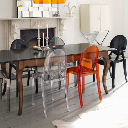 Sedie Victoria Ghost Kartell Di Philippe Starck 01
