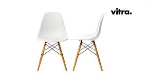 Sedie Charles Eames Vitra.Vitra Sedia Dsw Vitra Eames Plastic Side Charles Ray Eames