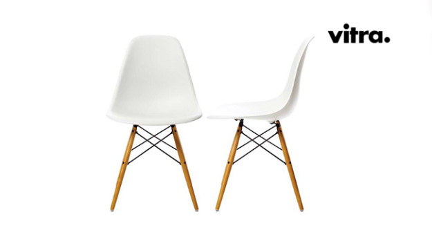 Vitra sedia dsw vitra eames plastic side charles ray eames - Sedia eames originale ...