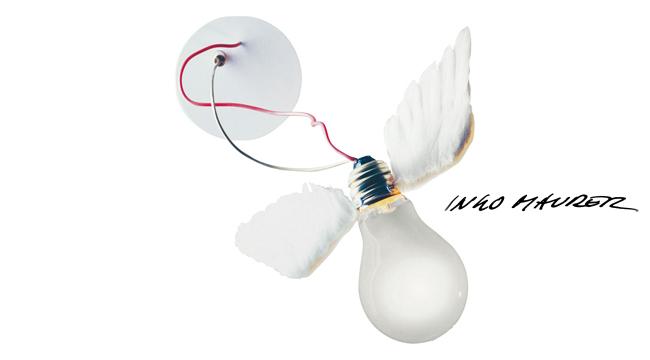 Ingo maurer lucellino ingo maurer da parete for Ingo maurer lampade