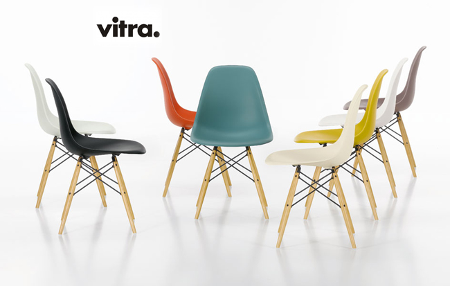 vitra sedia dsw vitra eames plastic side charles ray eames. Black Bedroom Furniture Sets. Home Design Ideas