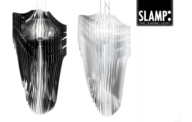 SLAMP - AVIA Slamp la nuova lampada di Zaha Hadid