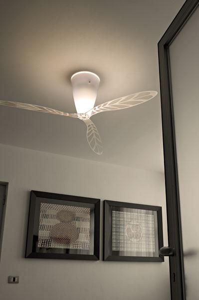 luceplan blow luceplan ventilatore lampada da soffitto. Black Bedroom Furniture Sets. Home Design Ideas