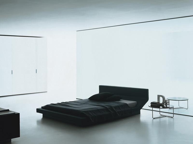 Porro lipla letto con retroletto di jean marie massaud for Rivestimento divano moroso lowland