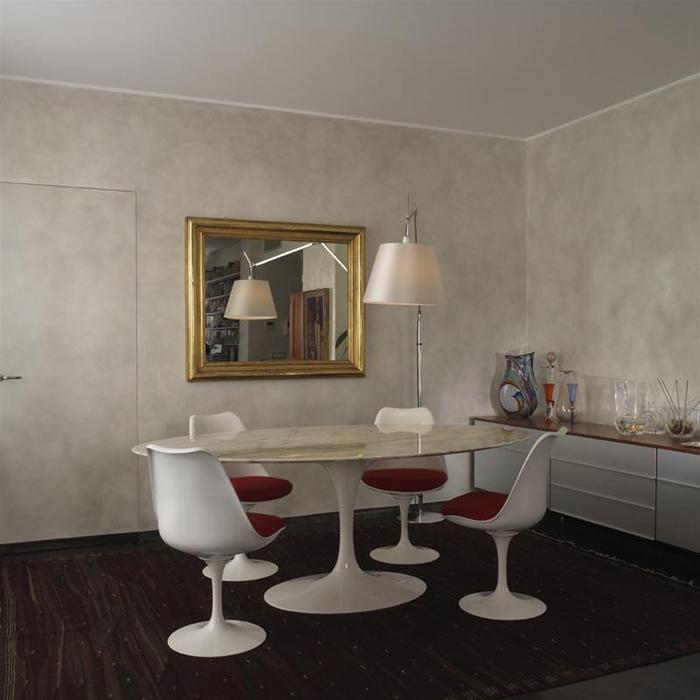 Knoll Sedia Tulip Side Chair Di Eero Saarinen