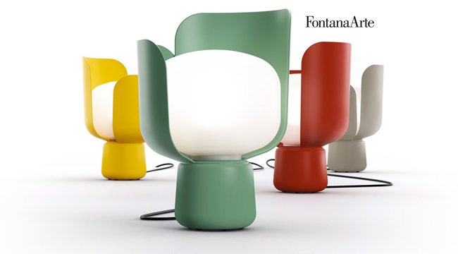 FONTANA ARTE - lampada da tavolo BLOM Fontana Arte