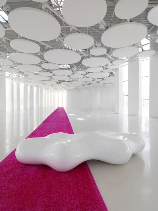 VONDOM - LAVA Vondom panca per esterni di Karim Rashid