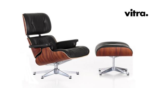 Vitra lounge chair vitra poltrona di charles ray eames for Eames design di mobili