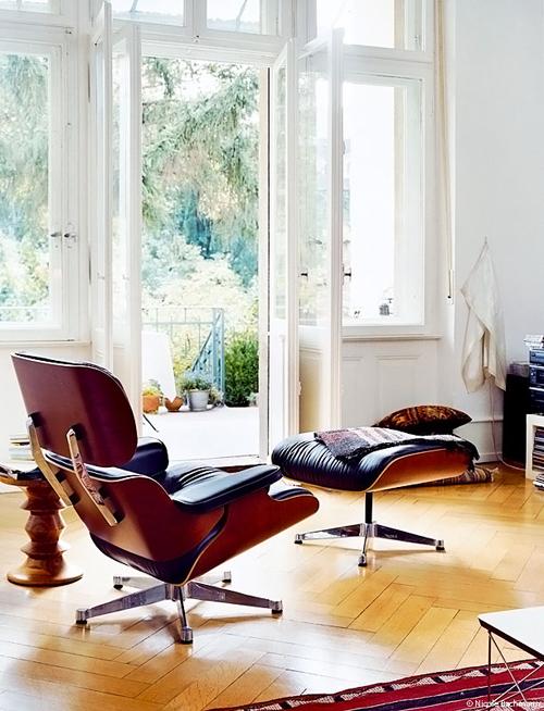 VITRA LOUNGE CHAIR Vitra poltrona di Charles & Ray Eames