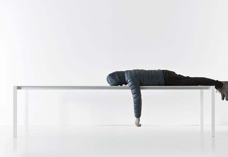 Tavolo Thin-k Long Kristalia