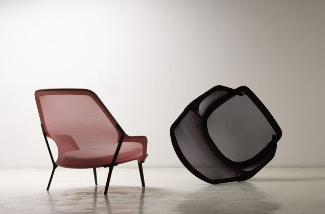 vitra slow chair vitra poltrona di ronan erwan bouroullec. Black Bedroom Furniture Sets. Home Design Ideas