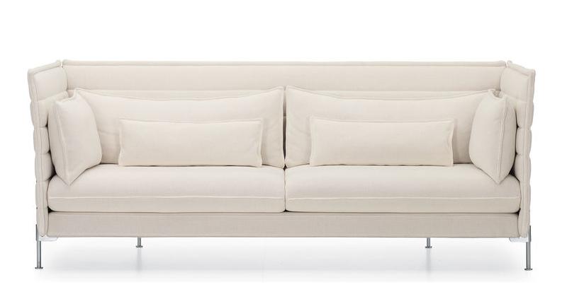 Vitra alcove sofa vitra divani e poltrone di bouroullec - Rivestimento divano poltrone e sofa ...