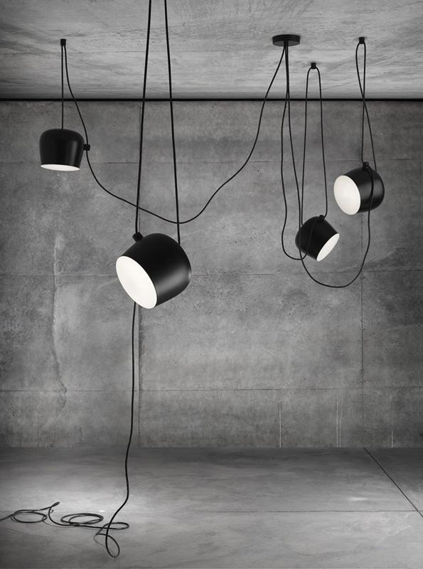 flos aim flos lampada a sospensione dei fratelli bouroullec
