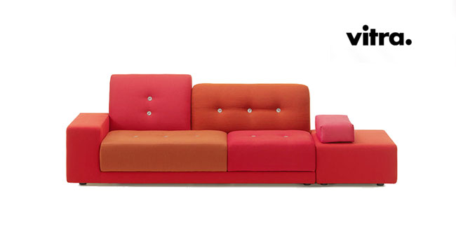 vitra polder sofa vitra polder divano di hella jongerius. Black Bedroom Furniture Sets. Home Design Ideas