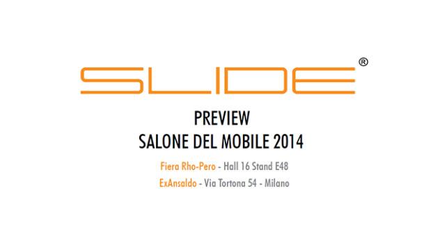 Slide Salone del Mobile 2014