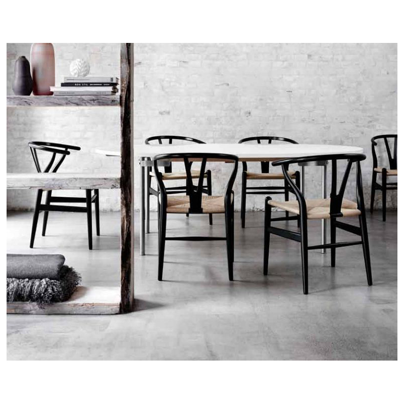carl hansen son sedia ch24 wishbone chair carl hans wegner. Black Bedroom Furniture Sets. Home Design Ideas