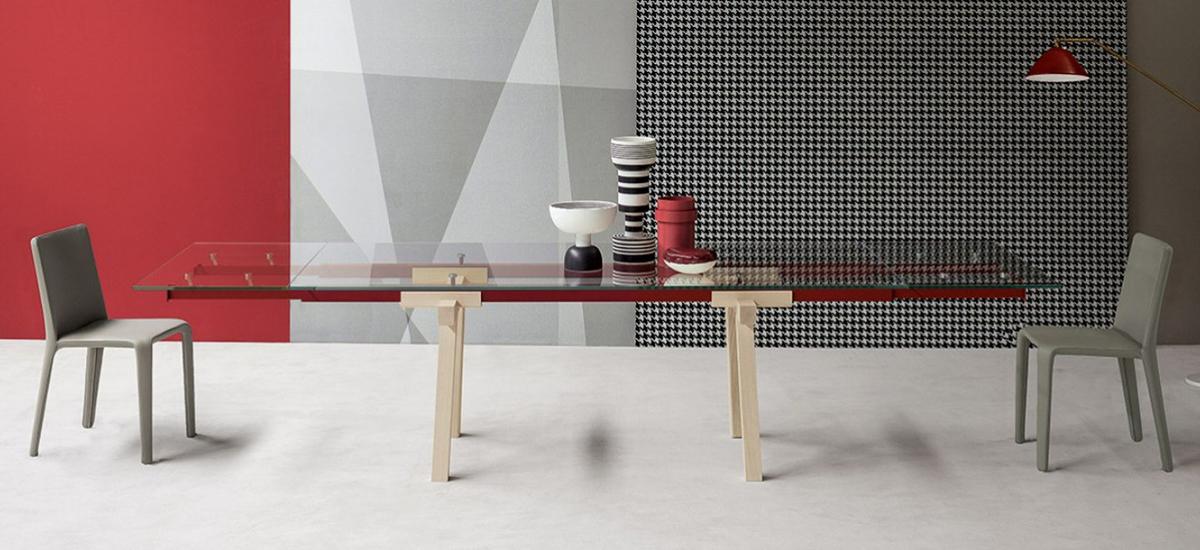 BONALDO - TRACKS Bonaldo tavolo di Alain Gilles