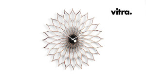 Sunflower Clock Vitra