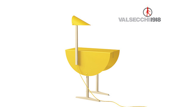 Ostrich Valsecchi 1918 consolle tavolino