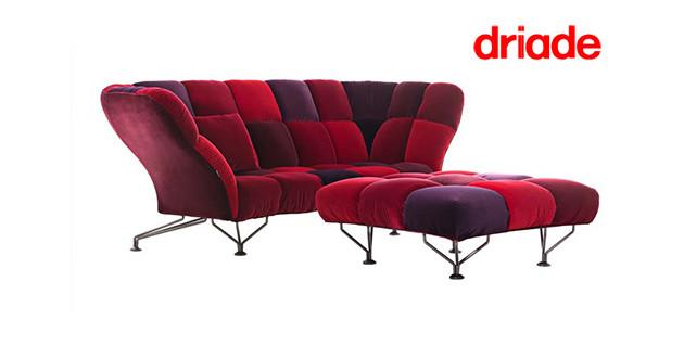 divano 33 Cuscini Driade