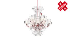 Rockcoco Fatboy lampada trasparente stile barocco