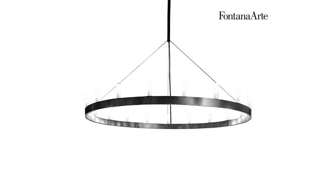 FONTANA ARTE - CHANDELIER Fontana Arte lampadario