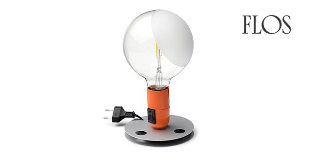 Flos lampadina flos lampada da tavolo achille castiglioni - Lampada da tavolo di design ...