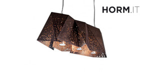 Plywood Chandelier Horm