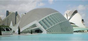 Città delle arti e delle Scienze Valencia di Santiago Calatrava e Félix Candela