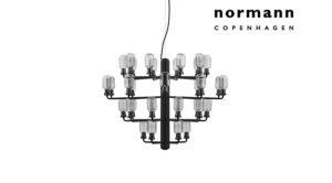 lampada a sospensione Amp Chandelier Normann Copenhagen di Simon Legald