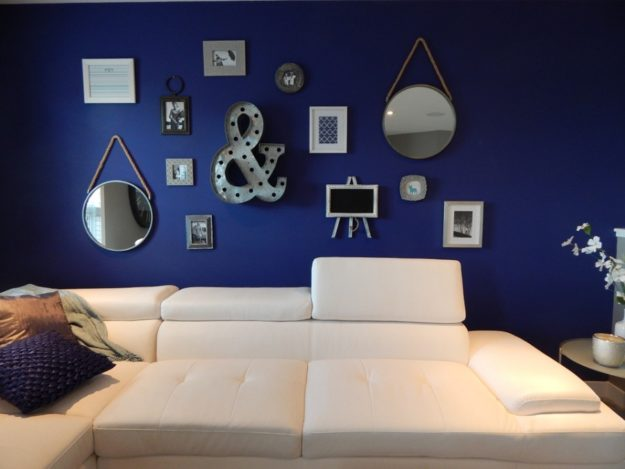 salone in casa stile marino